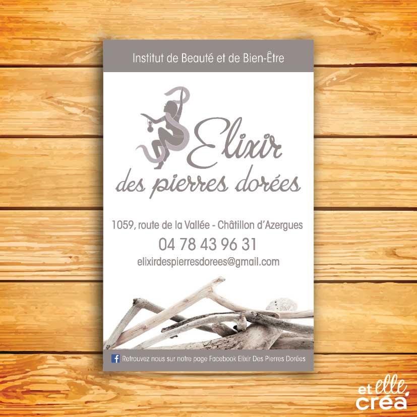 Et Elle Crea Infographiste Cartes De Visite